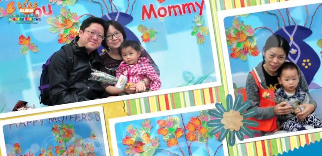 [影片及相片] 5月10日,親子遊戲班母親節活動合照