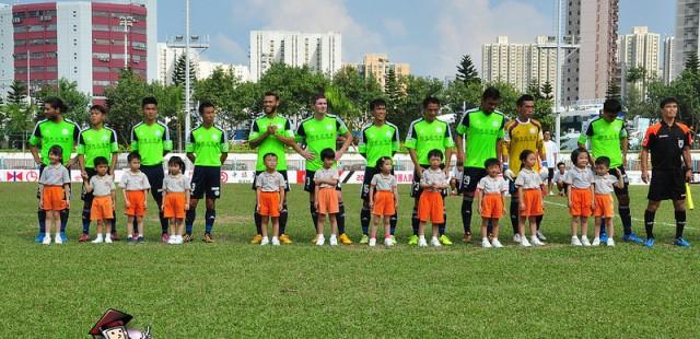 本園學生參與香港超級聯賽開球禮  [按入瀏覽]