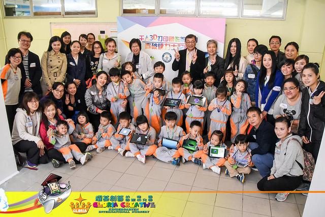 Photo of 【花絮】本園學生參與破健力士世界紀錄