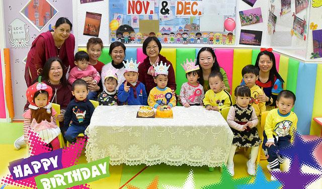 Photo of 【花絮】11月及12月份生日慶祝會