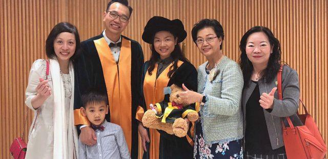 熱烈恭賀 本園顧問朱子穎校長 獲頒香港教育大學榮譽院士2019