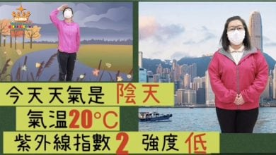 Photo of (9) 30/3-3/4 上水UC1  天氣(颱風來了)