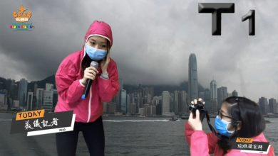 Photo of (9) 30/3-3/4 粉嶺UC2  天氣(颱風來了)